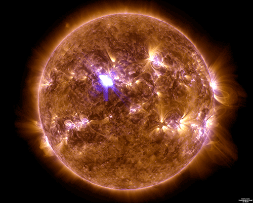 April 11, 2013 M6.5 mid-level solar flair